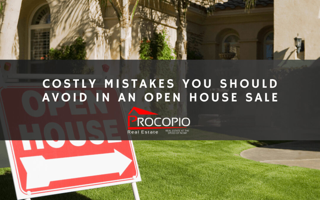 4 Mistakes to Avoid in An Open House Sale